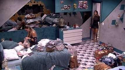 Hariany questiona Paula: 'Está mandando calar a boca por quê?