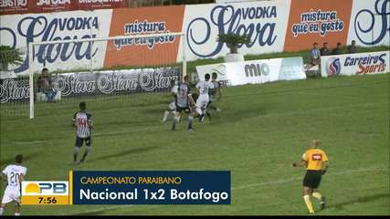 Confira como foi o jogo de ida da semifinal entre Nacional de Patos e Botafogo-PB