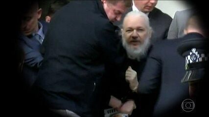 Julian Assange é preso em embaixada em Londres após EUA pedirem extradição