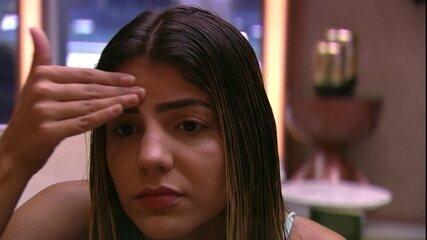 Hariany relembra briga com Paula e comenta: 'Estava jurando que ia ser expulsa'
