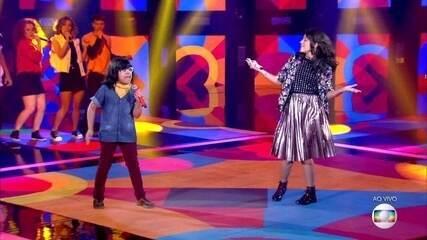 "Malu Casanova e Pedro Mirandacantam ""Love On Top"""