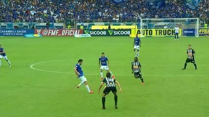 Melhores momentos de Cruzeiro 2 x 1 Atlético-MG, na primeira final do Campeonato Mineiro