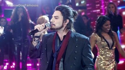 Hugo Bonemer se apresentou como Luan Santana