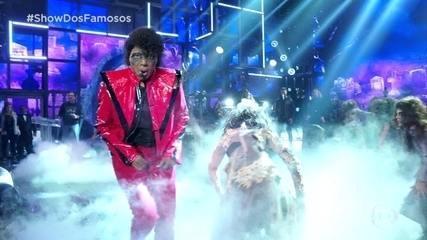 Ludmilla cantou e dançou ao som de 'Thriller'