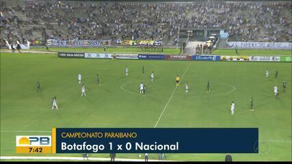 Botafogo-PB vence o Nacional de Patos e está na final do Campeonato Paraibano
