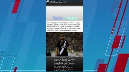 Maxi López nega negociação com o Santos