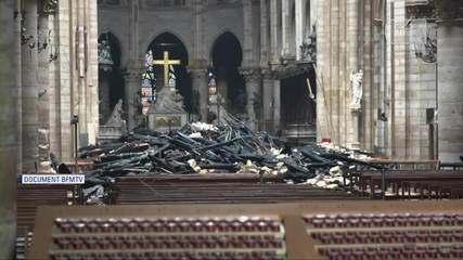 Veja como ficou Catedral de Notre-Dame após o incêndio