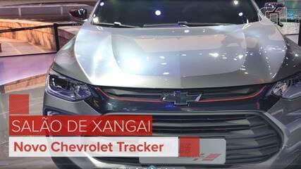 Salão de Xangai 2019: Veja como ficou o Chevrolet Tracker