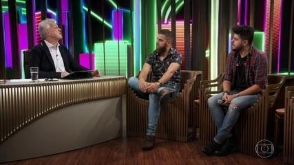 Zé Neto & Cristiano falam sobre o Troféu Domingão