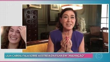Lilia Cabral manda recado para a filha, Giulia Bertolli