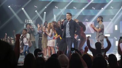 Veja o que rolou nos bastidores da final do The Voice Kids