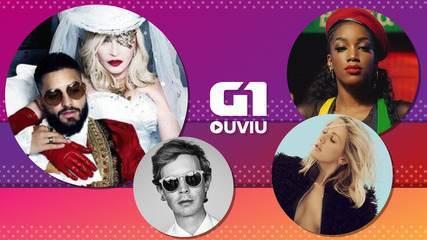Madonna no reggaeton, Iza no reggae e Beck no suingue de Pharrell estão no G1 Ouviu