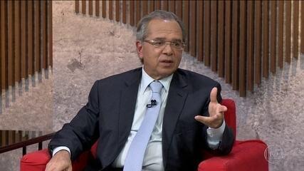 Em entrevista à GloboNews, Paulo Guedes admite que governo pode ceder em  pontos da Previdência | Jornal Nacional | G1