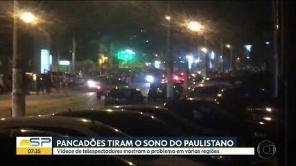 Pancadões incomodam moradores da capital de SP