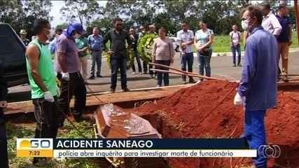 Polícia investiga morte de funcionário da Saneago como homicídio culposo por negligência
