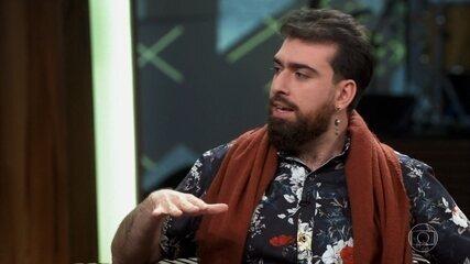 Gabriel Estrela fala sobre seu trabalho nas redes sociais para ajudar as pessoas com HIV
