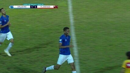 Melhores momentos: Cruzeiro 1 x 1 Flamengo pela Copa do Brasil sub-20