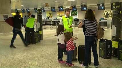 Começa a valer nesta quinta (25) a fiscalização para bagagem de mão nos aeroportos