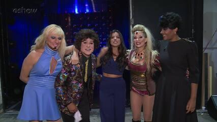 Elenco do Grupo B comenta apresentações da segunda rodada do 'Show dos Famosos'