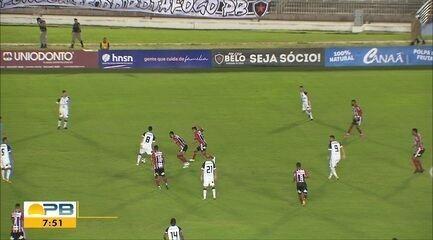 Confira como foi o empate entre Botafogo-PB e Ferroviário no Almeidão