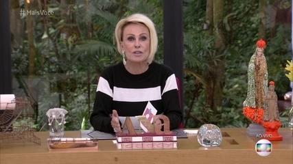 Ana Maria Braga comenta expectativa para os 20 anos do 'Mais Você' e desmente boatos