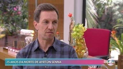 Luciano Burti relembra vitória emocionante de Senna no Brasil