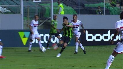 Melhores momentos: América-MG 0 x 1 Botafogo-SP pela 2ª rodada do Brasileirão Série B