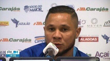 Madson fala sobre o reencontro com o Santos