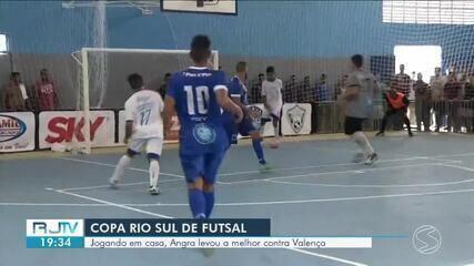 Angra dos Reis despacha Valença na briga por vagas nas quartas de final da Copa Rio Sul