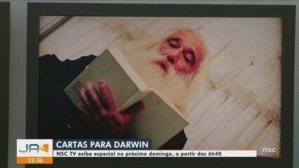 """NSC TV exibe série """"Cartas Para Darwin"""""""