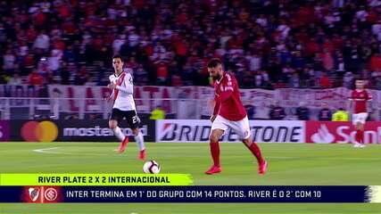 Comentaristas analisam o empate do Inter contra o River na Argentina