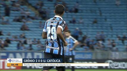 Confira os melhores momentos do Grêmio contra o Universidad Católica