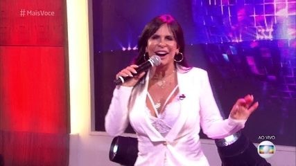 Gretchen apresenta 'Conga, Conga, Conga'