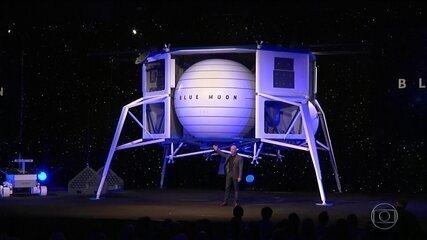 Jeff Bezos promete homem na Lua em 2024