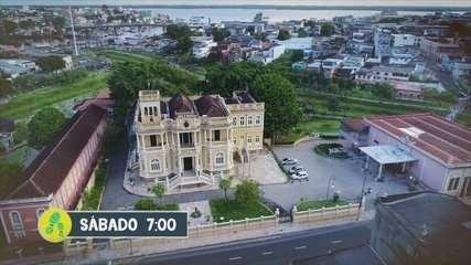 Partiu Amazônia vai visitar os Palácios de Manaus; vem ver