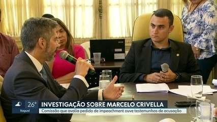 Comissão que analisa pedido de impeachment de Marcelo Crivella ouve testemunhas na Câmara