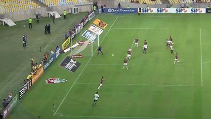 O gol de Fluminense 0 x 1 Botafogo pela 4ª rodada do Campeonato Brasileiro