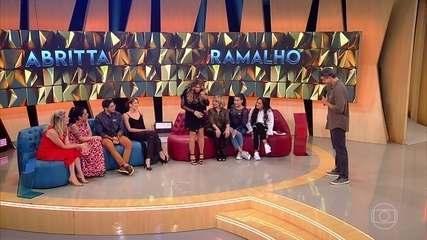 """Elba e Poliana contam histórias hilárias sobre """"esquecimentos"""""""