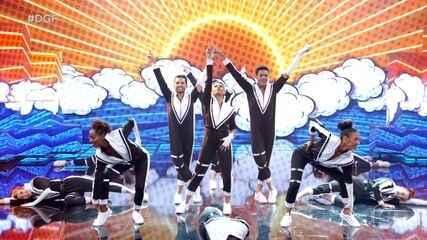 Grupo Sigma se apresenta no 'Dança de Grupo'