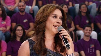 Claudia Raia fala sobre suas lembranças de dona Odete