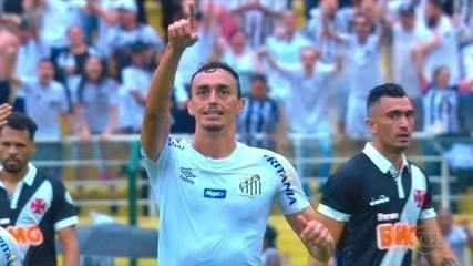 Gols do Fantástico: Santos vence por 3 a 0 o Vasco