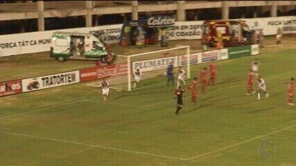 Patrocinense marca no fim e empata com Anapolina pela Série D
