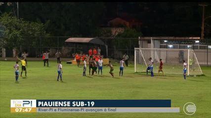 River-PI e Fluminense-PI vencem e avançam à final de Campeonato Piauiense sub-19