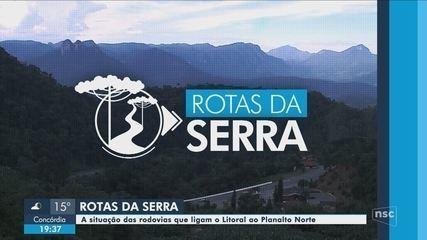 Confira a primeira reportagem da série 'Rotas da Serra'