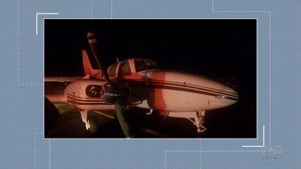 Avião com 500 kg de cocaína é apreendido por operação policial em Goiás
