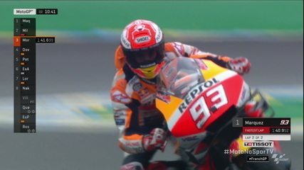 Marc Marquez conquista a pole para o Grande Prêmio da França de MotoGP