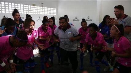 Raízes: Vitória das Tabocas e São Francisco do Conde, clubes que já foram referência, lutam para se manter na elite do futebol feminino