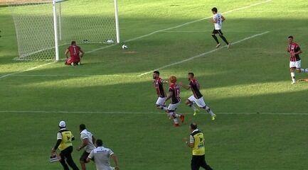Os gols de River-PI 5 x 2 Santa Cruz-RN pela terceira rodada da Série D