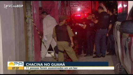 11 pessoas morrem em chacina no bairro do Guamá em Belém