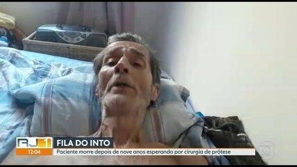 Paciente morre após esperar 9 anos na fila para realizar cirurgia no Into